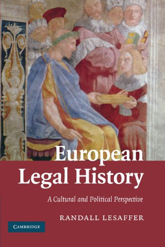 European Legal History: A Cultural and Political Perspective: The Civil Law Tradition in Context por Randall Lesaffer