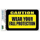 ACHTUNG tragen Ihr Absturzsicherung Slap-Stickz Aufkleber Premium laminiert Aufkleber Schild