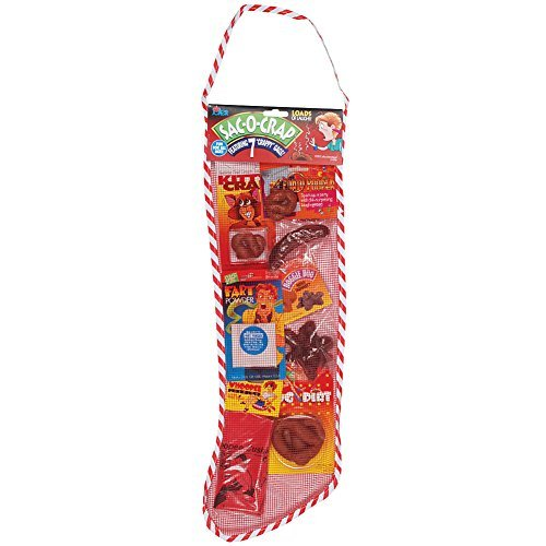 Loftus Crappy Christmas Stocking Sac of Novelty Gag Gifts for The Naughty