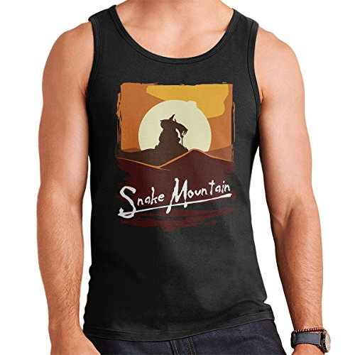 Apocalyse Now Snake Mountain He Man Masters Of The Universe Men's Vest Black