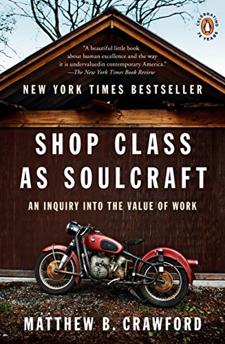 Shop Class as Soulcraft: An Inquiry into the Value of Work por Matthew B. Crawford