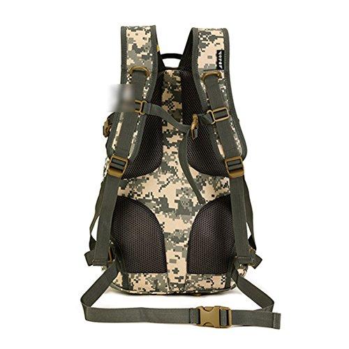 YAAGLE 20 L militärisch klein Gepäck Rucksack outdoor Reisetasche Fahrradrucksack Schultertasche Schüler Schultasche Tarnung 3