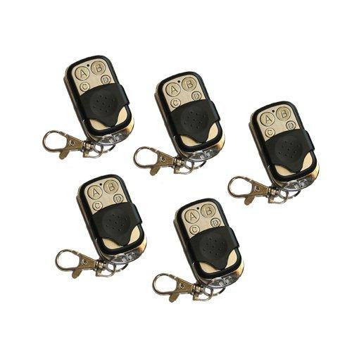 System Eng Tel5pezzi Telecomando per Cancello Automatico Universale, 433,92 MHZ, FAAC, BFT, 5 Pezzi