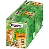 Kitekat Katzenfutter Landpicknick in Soße, 48 Beutel (2 x 24 x 100 g)