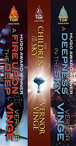 The Zones of Thought Series: (A Fire Upon the Deep, The Children of the Sky, A Deepness in the Sky) (English Edition) - Fire Best Kindle