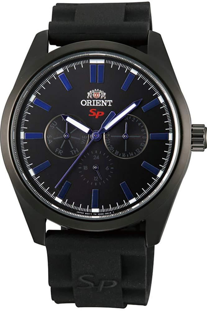 Orient Reloj Analógico para Hombre de Cuarzo con Correa en Caucho FUX00001B0