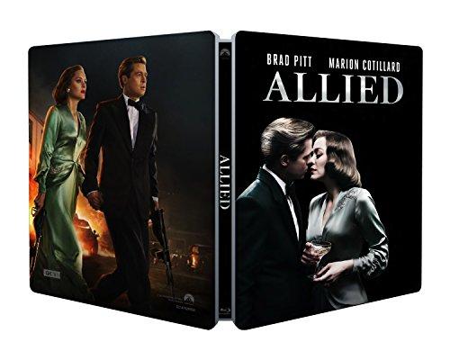 Allied: Un'Ombra Nascosta (Steelbook) (Blu-Ray) [Italia] [Blu-ray] 514FI YUt1L