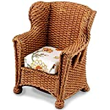 Brown Wicker Garden Chair