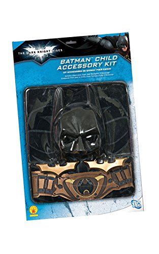 Rubie 's Offizielles Batman Blister Set, Kinder Kostüm-EINE Größe