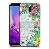 Head Case Designs Offizielle Paul Brent Die Blumen- Insel Tropisch Ruckseite Hülle für Samsung Galaxy J6 Plus (2018)