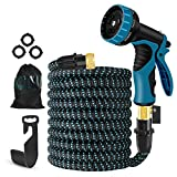 Best Expandable Hoses - Expandable Garden Hose, 50 FT Upgraded Flexible Water Review