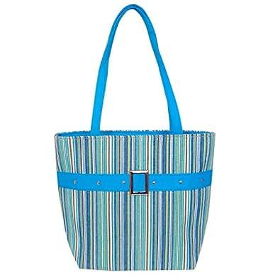 Womaniya Women's Handbag Turquoise (Woman1131)