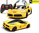 Zest 4 Toyz Remote Controlled Ferrari like Model Sports Car With Openable Doors