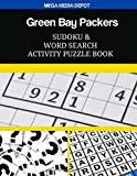 Green Bay Packers Sudoku and Word Search Activity Puzzle Book