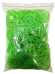 Flexi Rubber Bands Green - 1.5 inch Diameter - 400 pcs