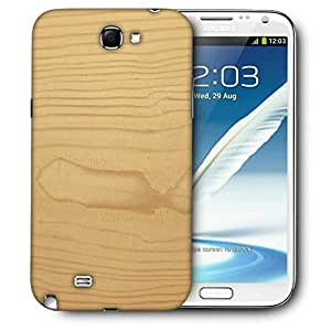 Snoogg Textura De Madera Printed Protective Phone Back Case Cover For Samsung Galaxy Note 2 / Note II