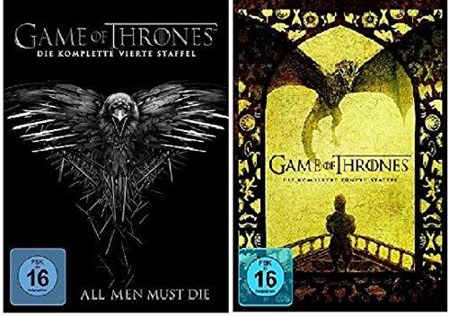game of thrones staffel 4 5 dvd preisbarometer. Black Bedroom Furniture Sets. Home Design Ideas