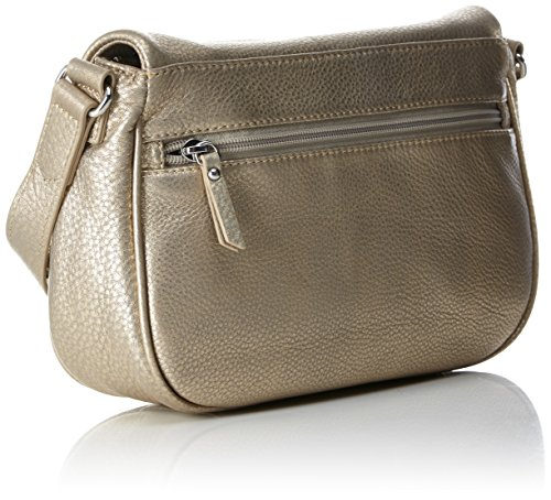Kipling - Earthbeat S, Borse a tracolla Donna Oro (Golden Glow)