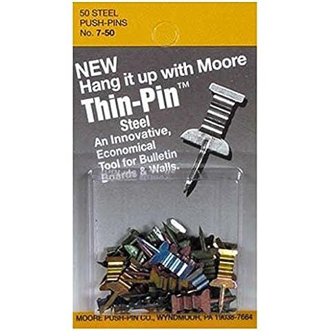 Moore Thin -Pins 50 / Confezione