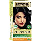 Indus Valley Natural Black Hair Colour- 1.0, 220 gm