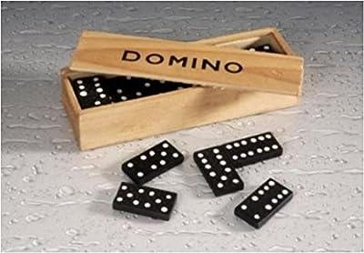 Domino dragon en bois