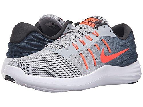 Nike LUNARSTELOS - Runningschuhe für herren, Grau (wolf grey/total crimson-anthracite-white) Wlf Gry / Ttl Crmsn - Anthrct - Whit