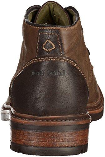Josef Seibel Oscar 11 Herren Combat Boots Braun (330 moro)