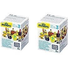 Mega Bloks–Minions Ciegos Caja–Minions para construir–Serie 3
