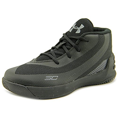 Under Armour Inf Curry 3 Maschenweite BasketballSchuh Blk/Blk/Blk