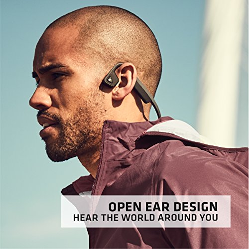 Aftershokz trekz Titanium Bone Conduction Kopfhörer Audio Bluetooth Bone Conduction für Sport mit Mikrofon - 4