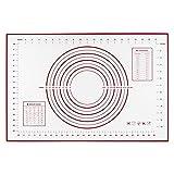 Base in silicone da cucina per cuocere e impastare, con certificazione di sicurezza, Silicone, Kneading pad Red