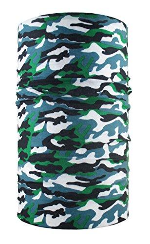 HeadLOOP Multifunktionstuch Camouflage Wald Loop Schlauchtuch Schal Halstuch Kopftuch Microfaser