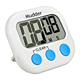 Mudder Magnetic Digital Kitchen Timer with Large LCD Display (Blue)