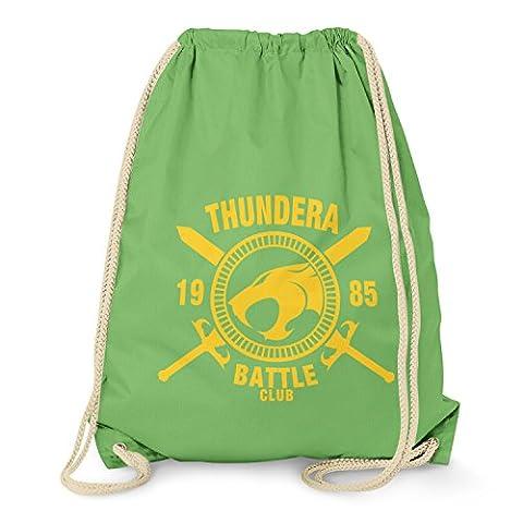 TEXLAB - Thundera Battle Club 1985 - Turnbeutel, hellgrün (He-man-kostüm Für Kinder)