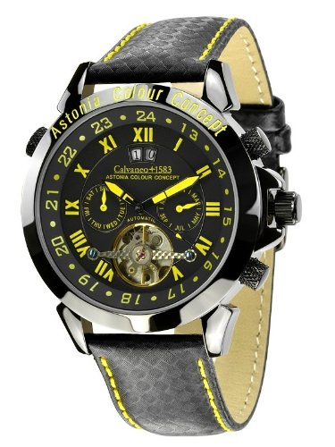Calvaneo - Calvaneo Astonia Concept Racing Yellow - Mixte - Noir