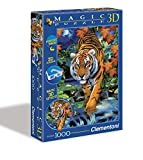 Clementoni 39185.1 - Puzzle Magic 3D 1000 teilig On the prowl