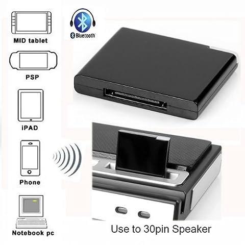 SODIAL(R) Recepteur de musique Bluetooth A2DP pour Apple iPad iPod iPhone Dock a 30 broches