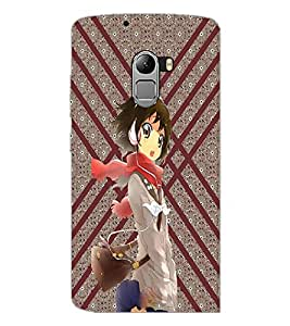 PrintDhaba Music Girl D-3773 Back Case Cover for LENOVO VIBE X3 LITE (Multi-Coloured)
