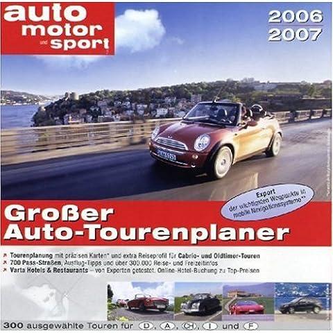 Auto Motor u. Sport Großer Auto-Tourenpl. 06/07 [Importación alemana]