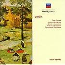 Dvorak : Poèmes symphoniques, Ouvertures
