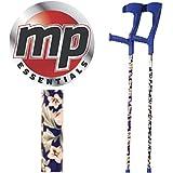 MP Essentials Compact Réglable motif Funky Medical béquilles d'avant-bras–Paire