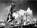 Posterlounge Forex-Platte 120 x 90 cm: Godzilla von Granger Collection