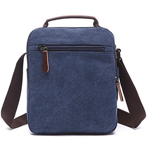 Mygreen Handtasche / Schultertasche / Umhängetasche Armeegrün Blau