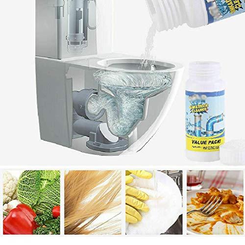 DecoBay WC-Reiniger und Entkalker Drain Cleaner Drain Unblocker Starker Reiniger WC-Abflussreiniger (1pack) -