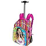 Soy Luna-Disney Channel 52460-Mochila con ruedas, Smile