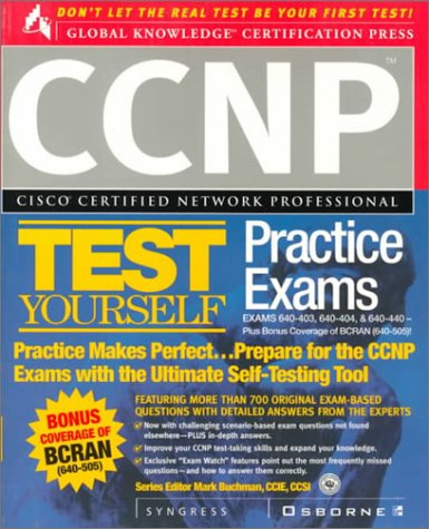 Ccnp Cisco Certified Network Professional Test Yourself Practice Exams par  Syngress Media  Inc.