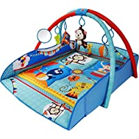 Bebe Style 4-in-1 Animal World Play Mat (Large)