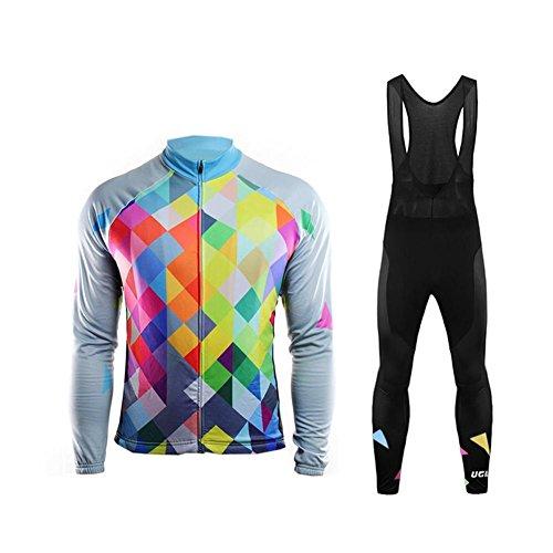 Uglyfrog abbigliamento ciclismo inverno set abbigliamento sportivo per bicicletta traspirante maglia pantaloni da uomo rtmx01