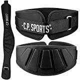 C.P. Sports Trainingsgürtel Profi Ultraleicht, Schwarz, S, 38711