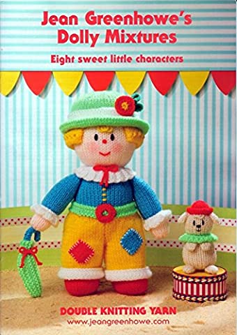 Jean Greenhowe - Knitted Doll - Dolly Mixtures